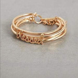 ❤️ BCBG Generation Gold Blessed Toggle Bracelet ❤️